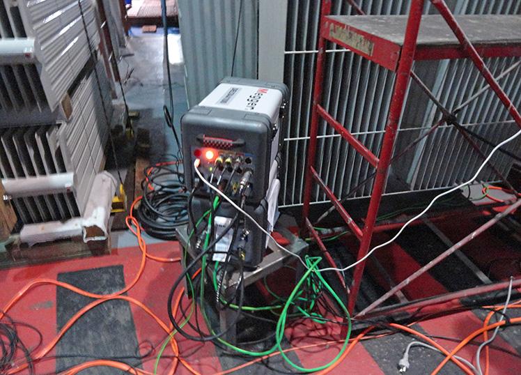 Диагностика  трансформатора на заводе